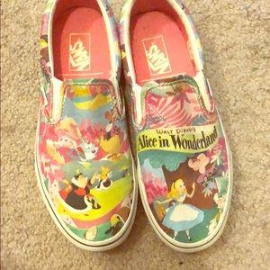 Alice in wonderland vans